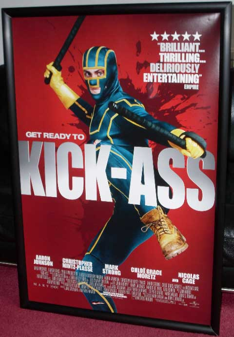 KICK-ASS: Main One Sheet Film Poster