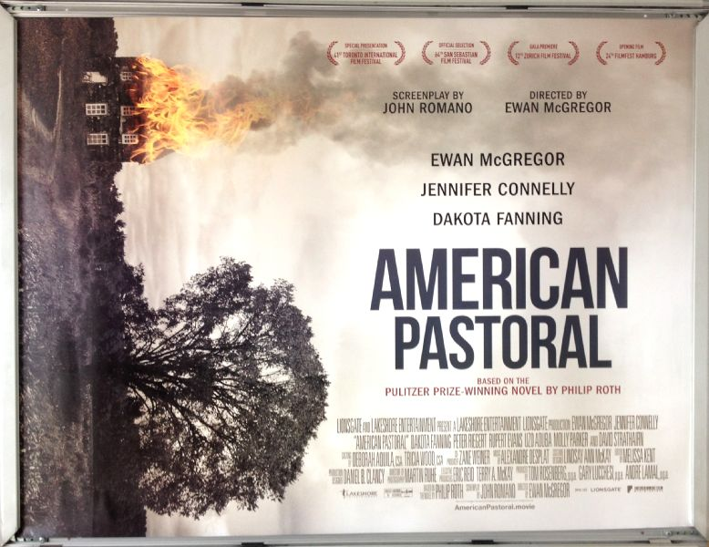 Cinema Poster: AMERICAN PASTORAL 2016 (Quad) Amy Adams Jeremy Renner
