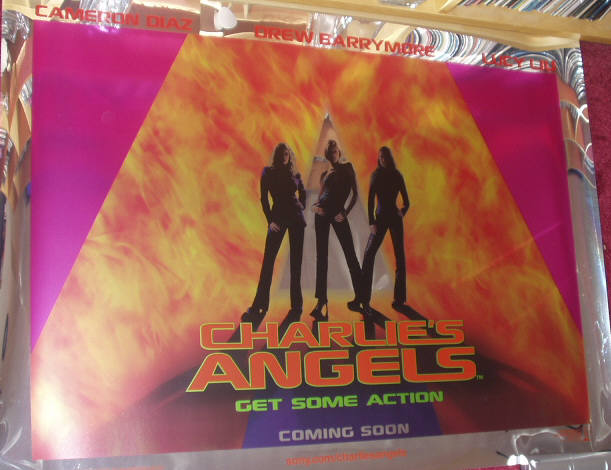 CHARLIE'S ANGELS: Foil Main UK Quad Film Poster