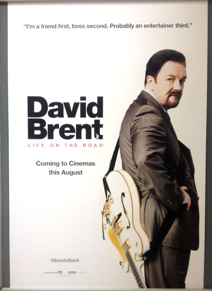 Cinema Poster: DAVID BRENT LIFE ON THE ROAD 2016 (Side On One Sheet) Ricky Gervais