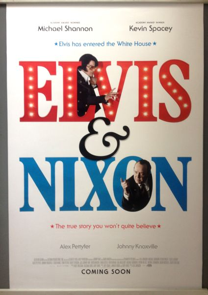 Cinema Poster: ELVIS & NIXON 2016 (Advance One Sheet) Michael Shannon Kevin Spacey
