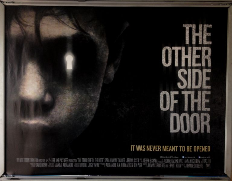 Cinema Poster: OTHER SIDE OF THE DOOR, THE  2016 (Quad) Sarah Wayne Callies