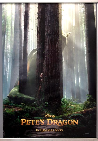 Cinema Poster: PETE'S DRAGON 2016 (Advance One Sheet) Bryce Dallas Howard Robert Redford