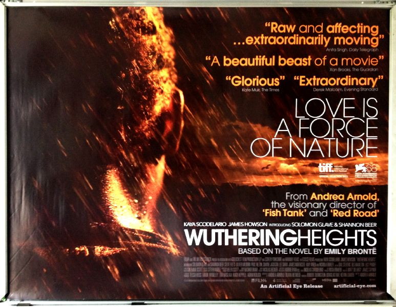Cinema Poster: WUTHERING HEIGHTS 2011 (Quad) Kaya Scodelario James Howson